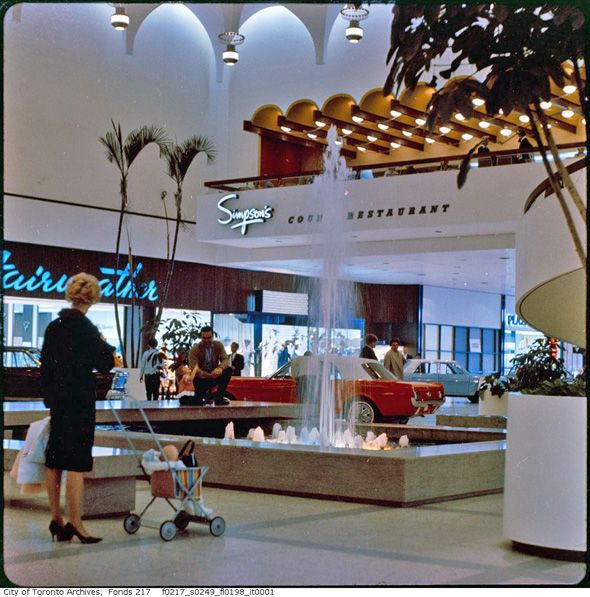 Yorkdale Mall 1965