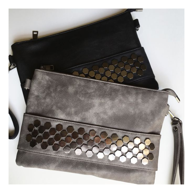 Gorgeous new oversized Madi Clutches