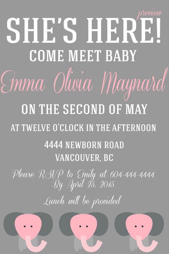 meet greet baby boy invitation