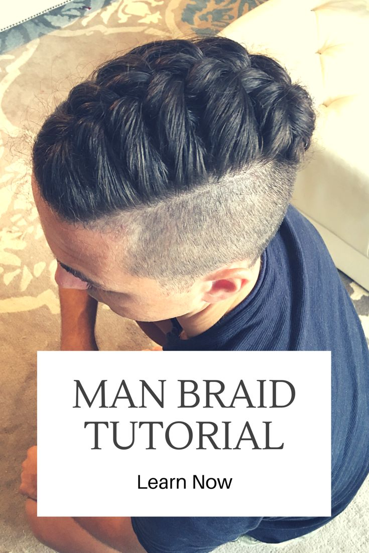 Awesome Man Braid Tutorial : https://youtu.be/65n9gDfOgmo It's not hard to learn when you finally get the concept.