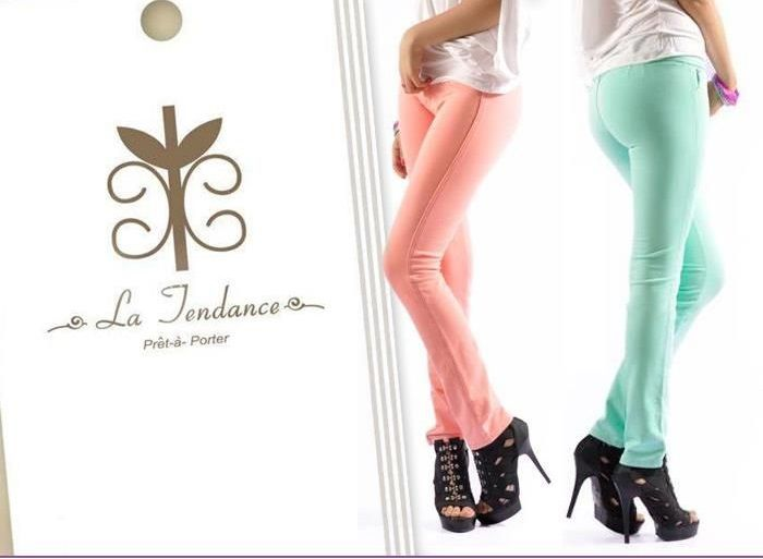 Pantalón stretch colores:  verde, negro, blanco, rosado