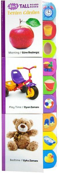 Benim Günüm - 3 Kitap Takım - ABC Yayınları, Bebek Kitapları Afacan Kitap çocuklar için eğitici kitap, eğitici oyuncak , mobilya!