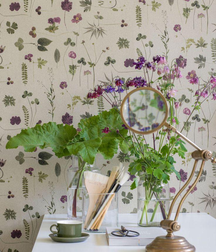 143 best papel pintado flores flower wallpaper images on for Comedor papel pintado