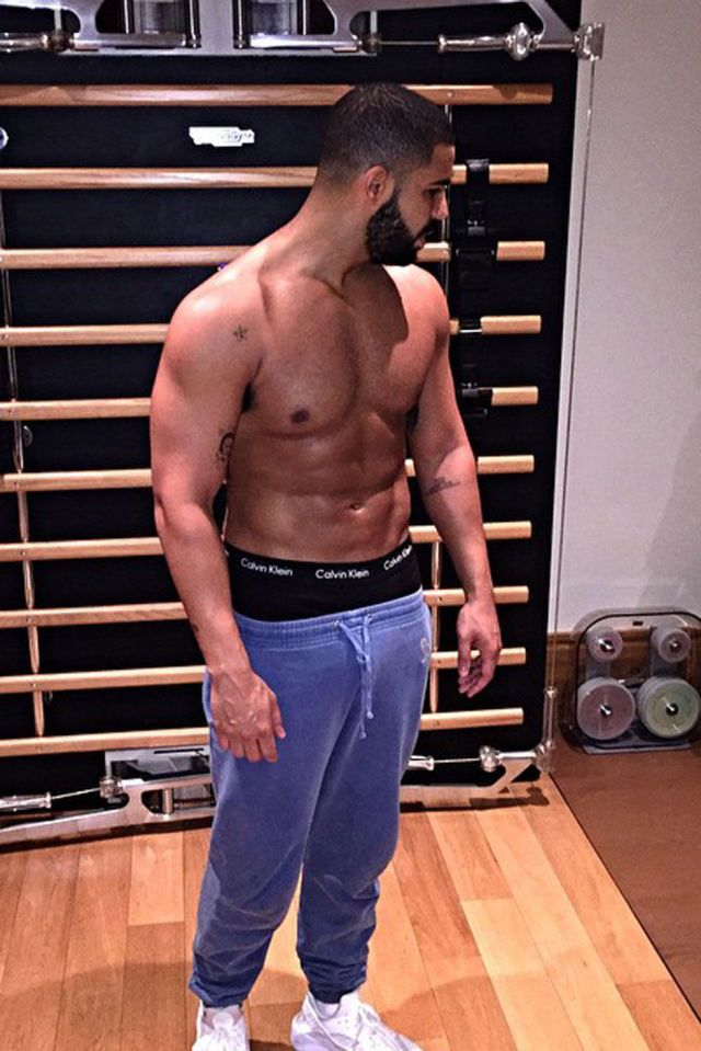 Drake works out early in the morning on July 7, 2015.   - Cosmopolitan.com