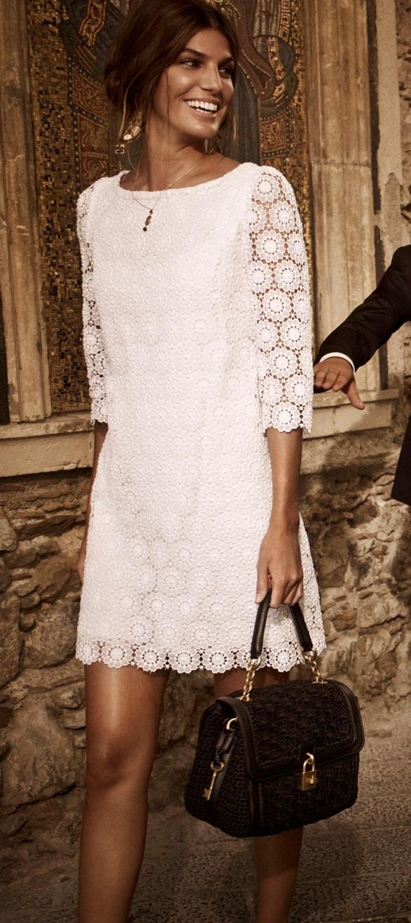 Bianca Brandolini, F/W 2012/2013 Dolce & Gabanna campaign.