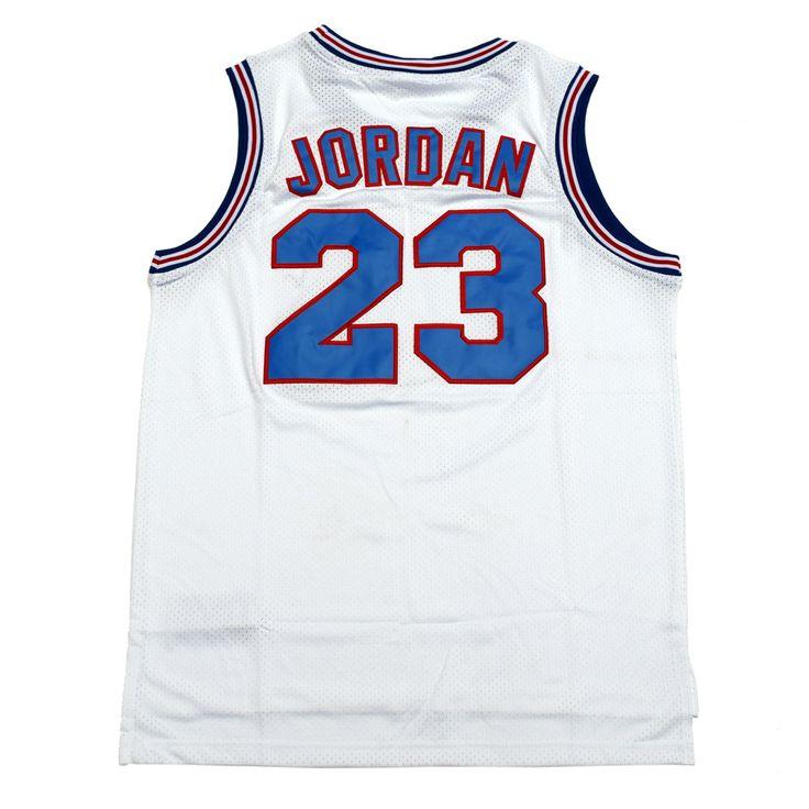 ММ MASMIG JORDAN #23 ДЖЕЙМС #6 Настройтесь команды Space Jam Баскетбол Джерси Белый