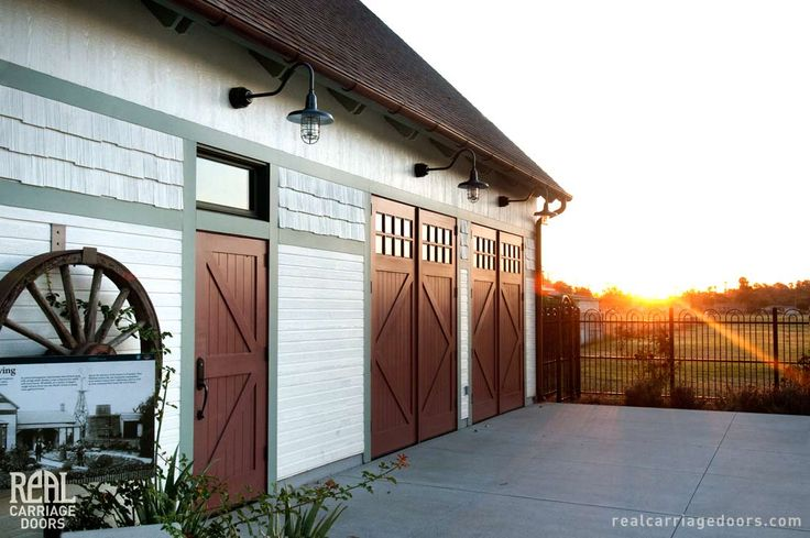 1000 images about real carriage doors on pinterest for Real carriage hardware