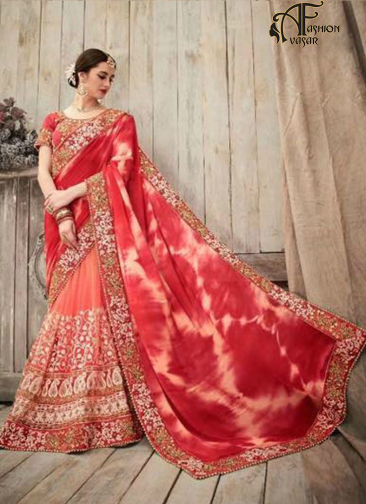Designer Indian Georgette Saree Online Shopping
