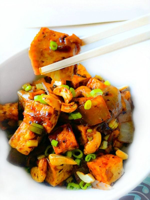 Tofu and Spicy on Pinterest