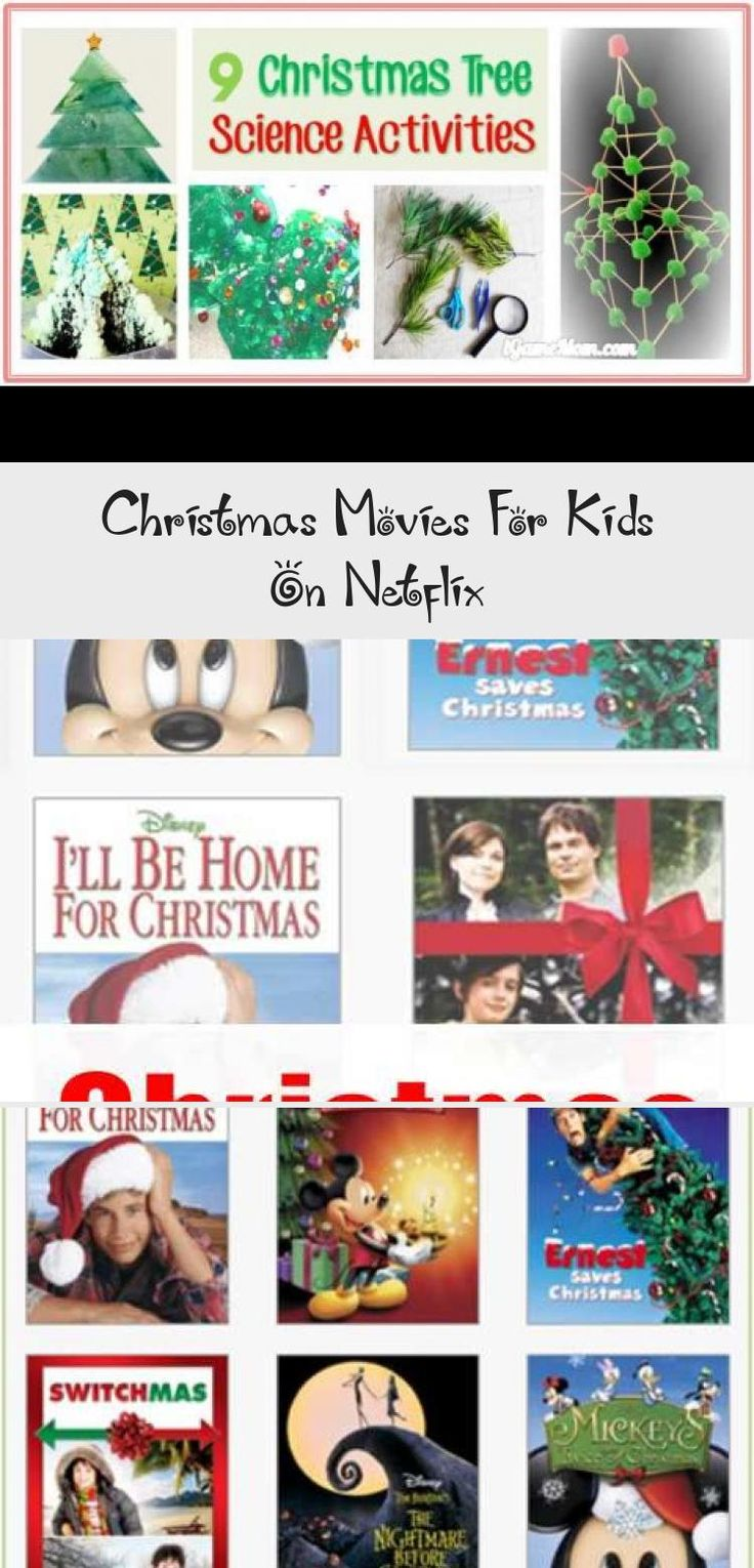 Christmas Movies For Kids On Netflix HOLIDAY IDEAS in