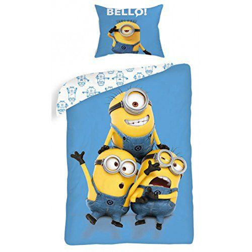 Copripiumino Minions Despicable Me 160x200 cm Cotone Singolo Yelow Bello Minion http://www.amazon.it/dp/B00UX5YL2A/ref=cm_sw_r_pi_dp_AvI4vb0FXZX6G