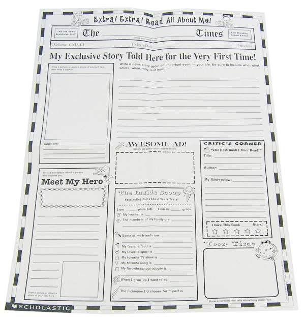 newpaper template