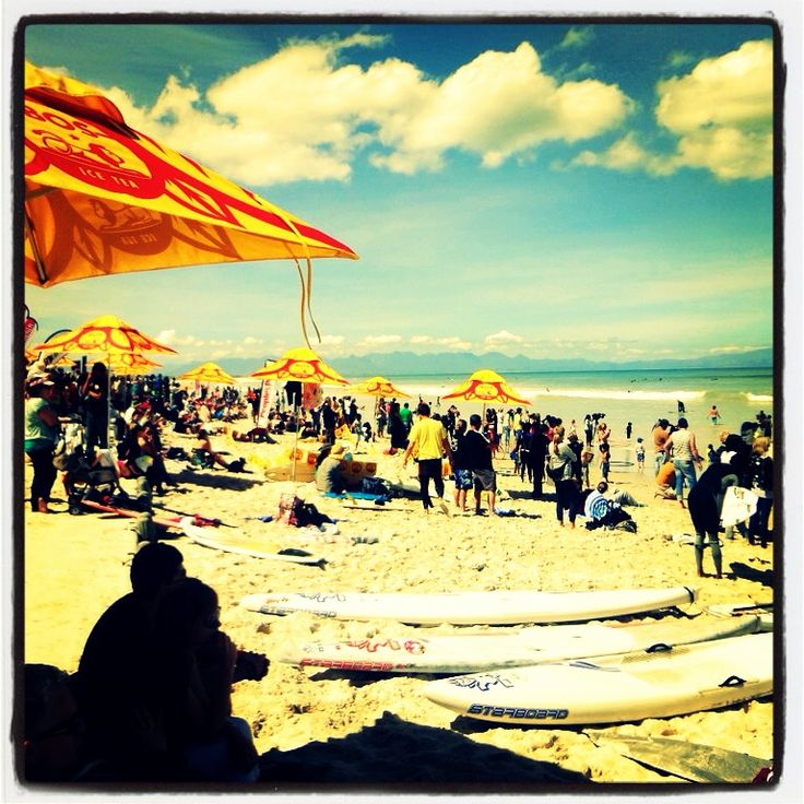 BOS ice tea on the beach. #winning