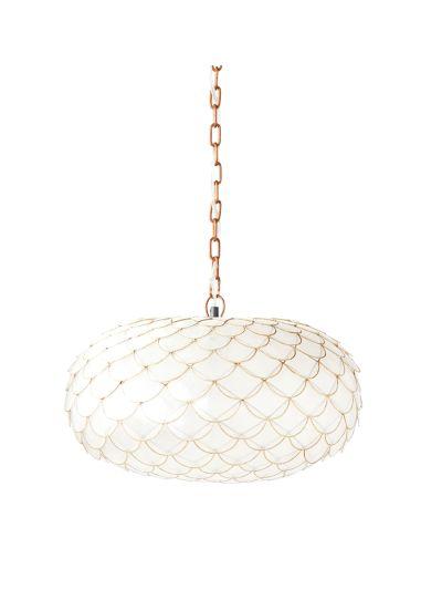 Capiz Scalloped Pendant Beautiful Light Fixture:  Http://www.stylemepretty.com