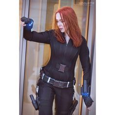 Thank you for all the birthday wishes! I can't reply to every comment or message but do know that I saw and appreciate them all! <3 :) . Photo by @amarvelousmaven / edit by me . #katsucon #katsucon2018 #blackwidow #blackwidowcosplay #natasharomanoff #scarlettjohansson #captainamerica #infinitywar #marvel #marvelcosplay #cosplay