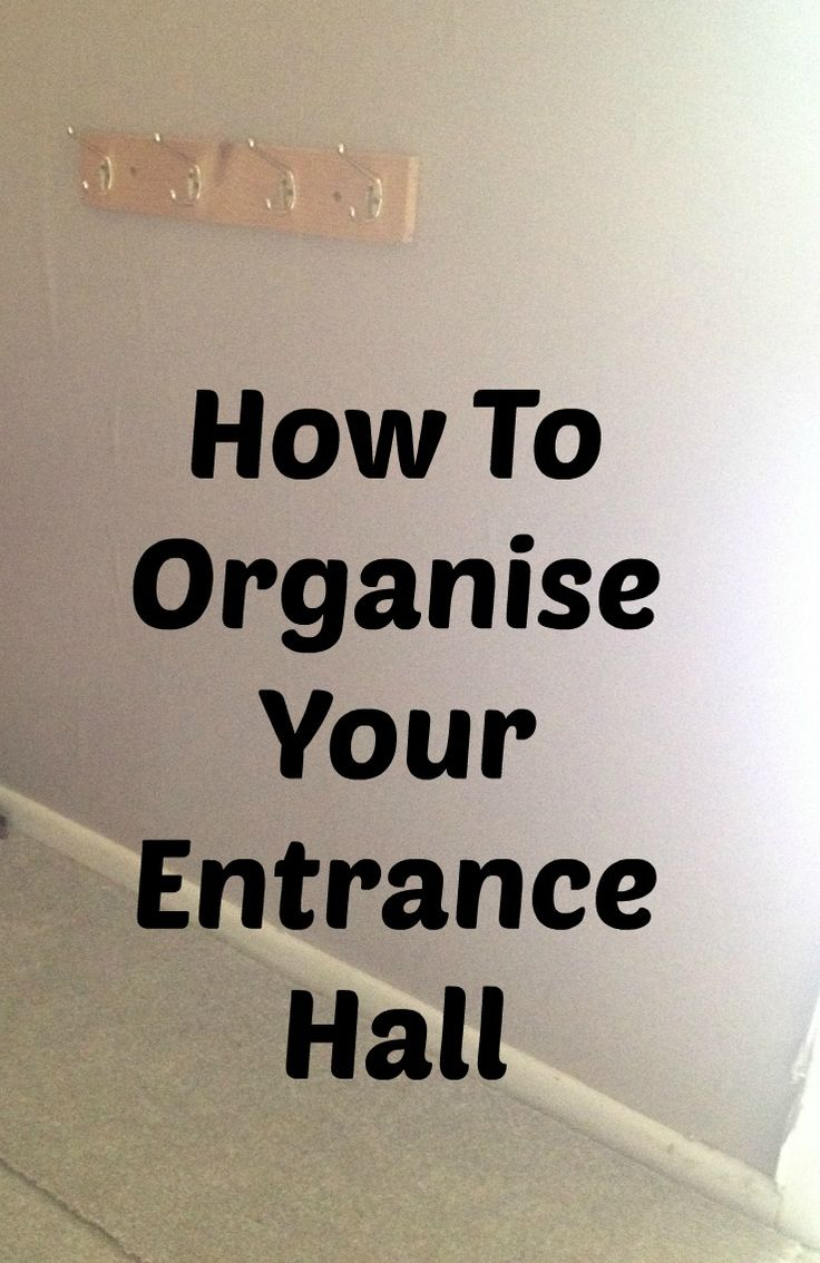How To Organise Your Entrance Hall - The Life Of Spicers