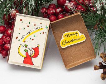 Christmas Card Matchbox - Поиск в Google