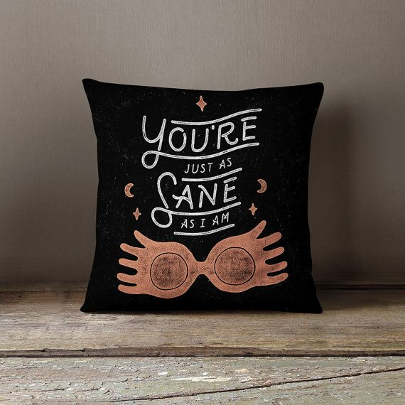 This Harry Potter pillow cover is so magical.