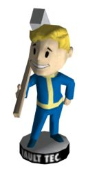 Bobblehead Melee Weapons