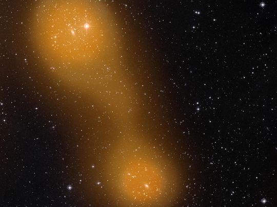 Ponte di gas tra due galassie -  Focus.it