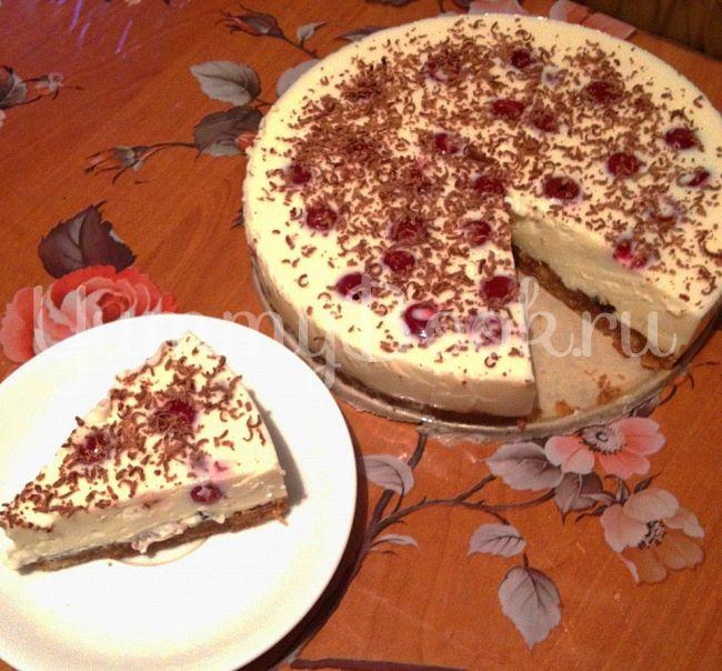 торт без выпечки с сухим молоком рецепт с фото