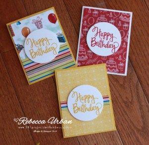 Stampin Up Birthday Celebrations. Stampin Up birthday card. Birthday card ideas. Stampin Up Stylized birthday stamp. Stampin Up ideas. Stampin Up cards. Easy birthday cards.