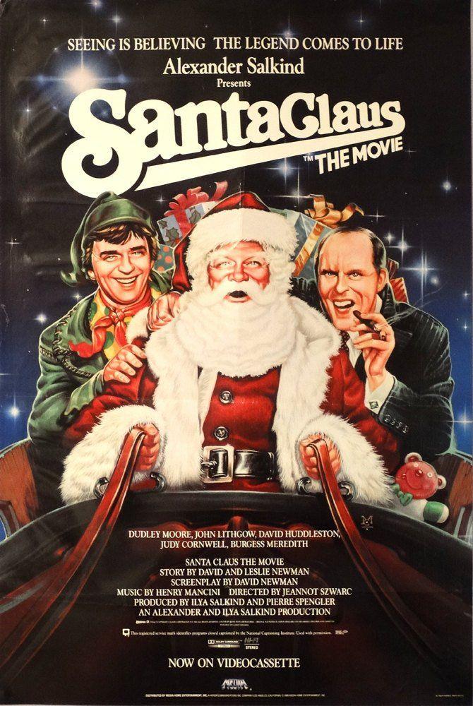 Santa Claus The Movie 1986 Original Us 24x36 Best Christmas Movies Santa Claus Movie Christmas Movies