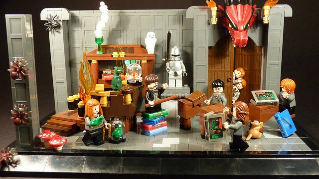 harry potter lego mocs | lego harry potter | Flickr - Photo Sharing!