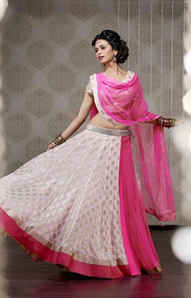 Ghagra Choli Ready to wear 1 - RmKV Silks