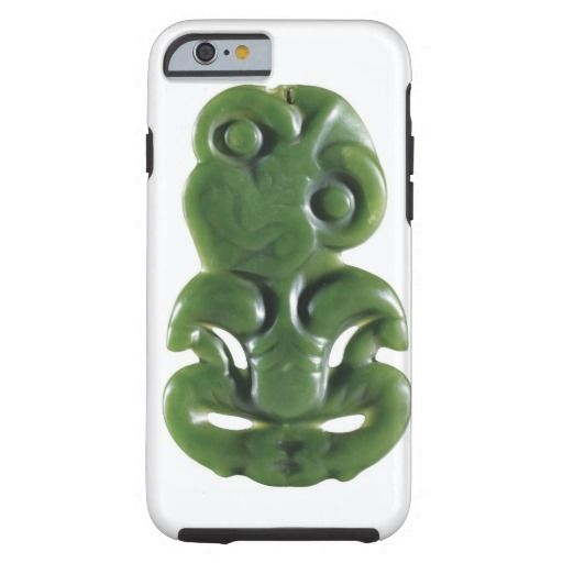 Lucky New Zealand Maori Tiki Art Design Tough iPhone 6 Case