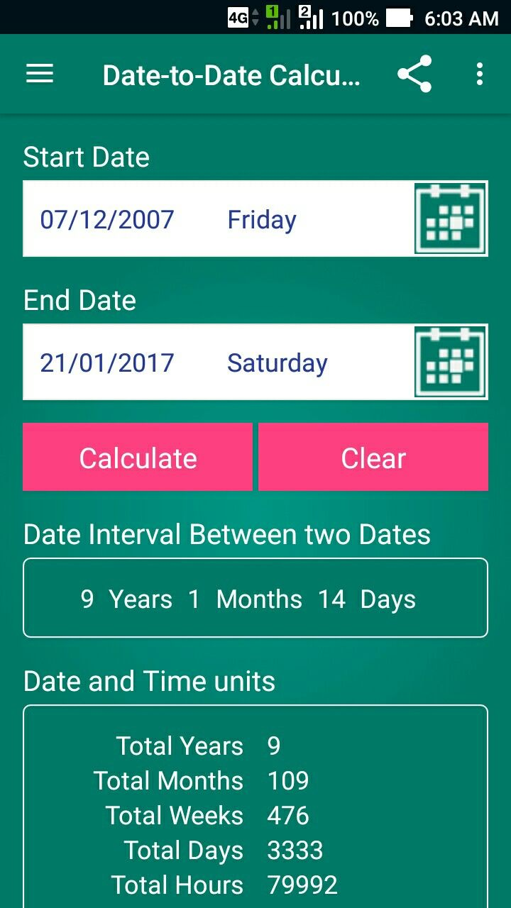 Age Calculator Is A Free And Lightweight, Fast And Easy To Use App How To