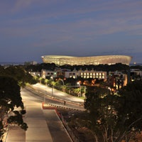 View of stadium from Protea Hotel Victoria Junction