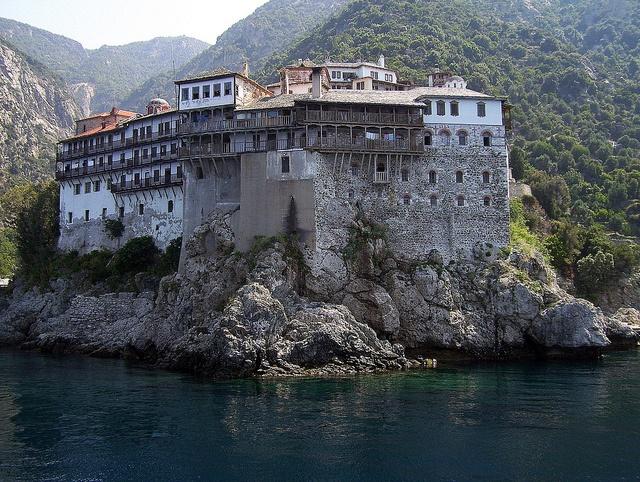 Holy monastery of Grigoriou/Mount Athos