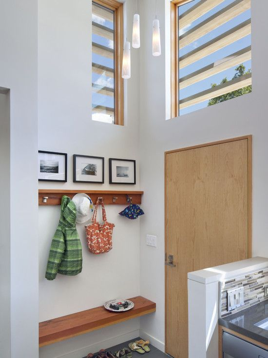 Small Entryway Storage Design Pictures Remodel Decor