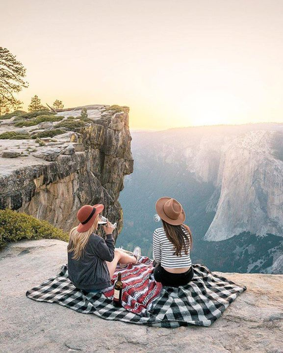 The best way to end a day of adventure    Taft Point Yosemite National Park California US |  Renee Roaming Say Yes To Adventure