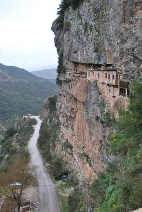 Monastery Kipinas Epirus