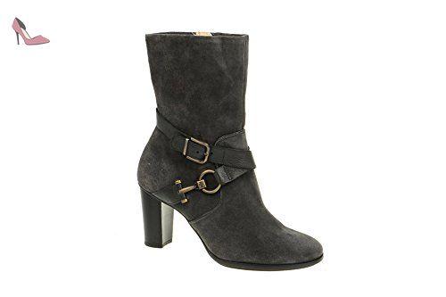Högl 0-107123-6600, Bottes pour Femme - Gris - Gris, 39 - Chaussures hgl (*Partner-Link)