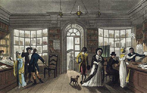 Shopping in Regency England.