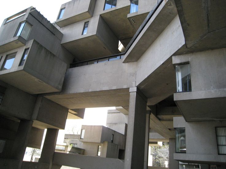 Montreal, Canada, Habitat 67, Interior view