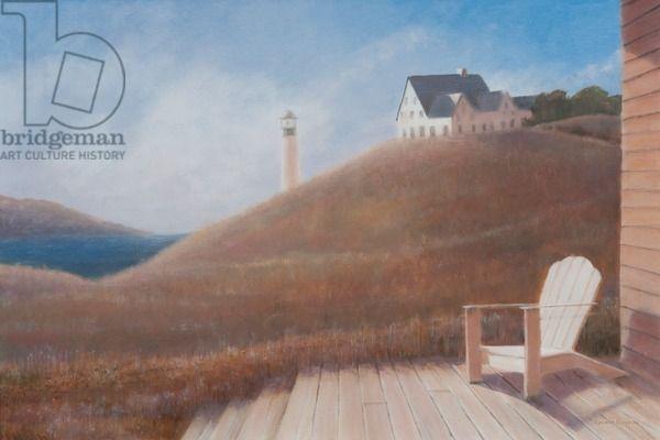 Maine landscape, 2012 (acrylic on canvas), Seligman, Lincoln / Private Collection / Bridgeman Images