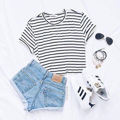 Imagem de adidas and outfit