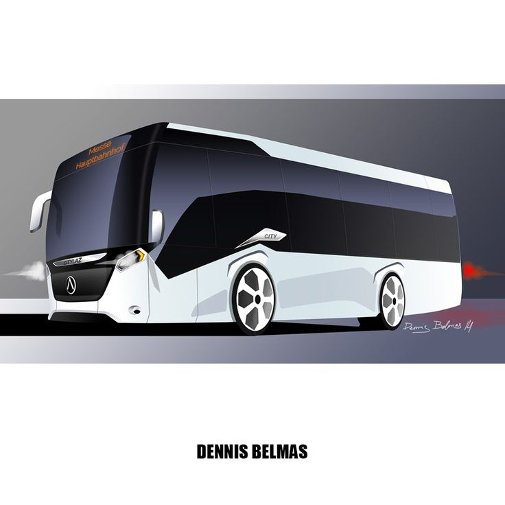 My design sketch of city bus #design #sketch #coach #bus #city
