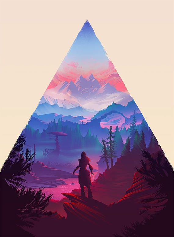 Inspired by Horizon Zero Dawn, this unique high quality print features Aloy framed against the games beautiful landscape. This image attempts to capture Horizons evocative visual style through light, shape, color, and scale.  *Due to the fineness of detail, the smallest print size is 11 x 14 inches.   Printed on natural white matte paper with ultrachrome archival inks, this art print is ready for framing and is shipped in a protective tube.  *frame not included  For more artwork please visit…