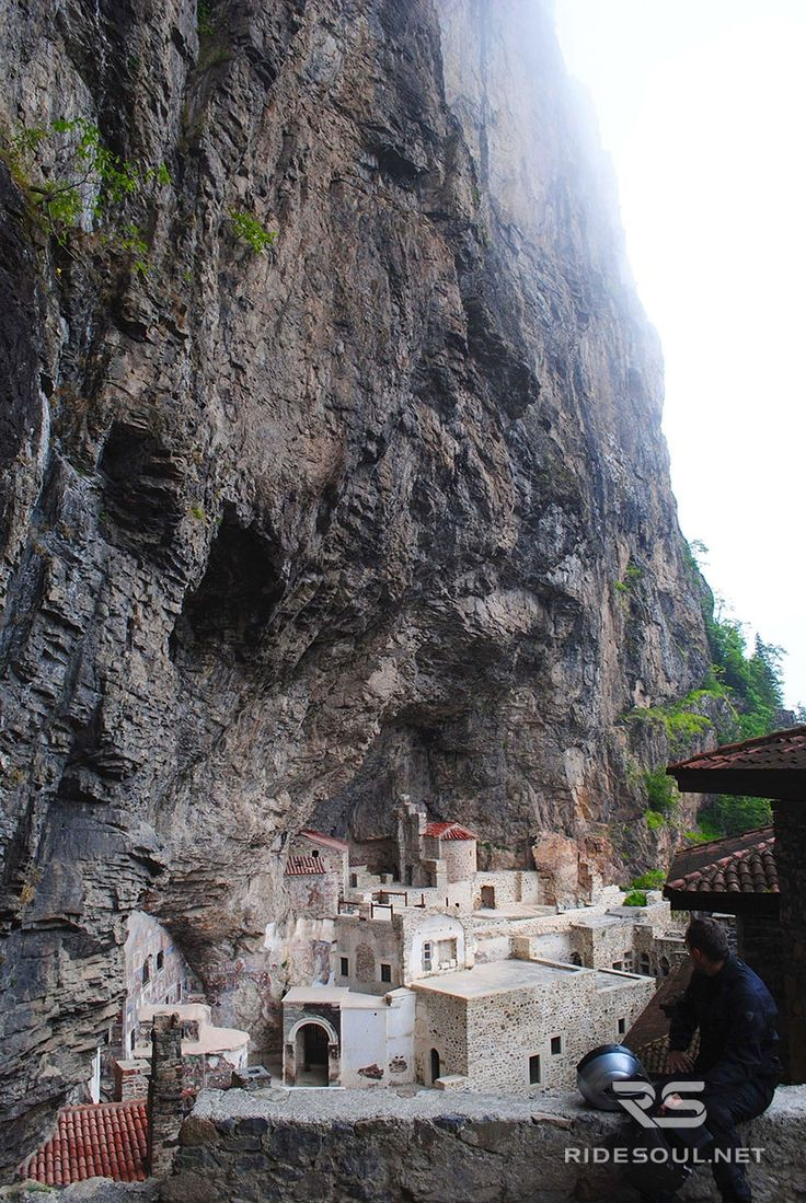 """The Sumela Monastery, a """"must see"""" destination if you are riding through Turkey!"""