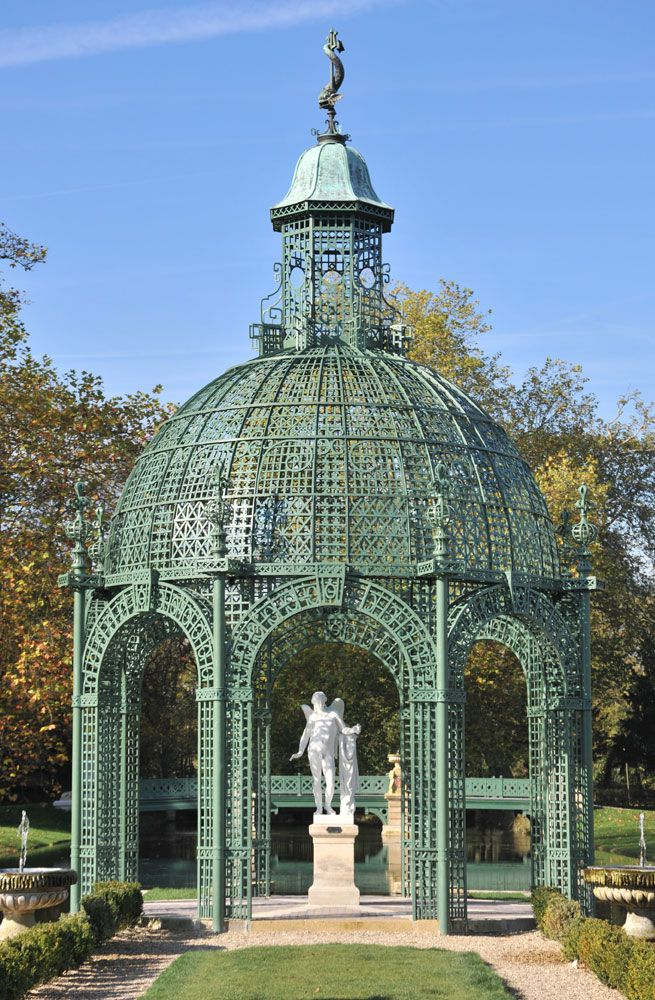 The Gloriette Island of Love – Castle of Chantilly -  Tricotel - The art of Treillage since 1848