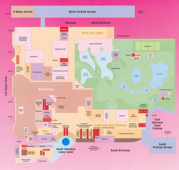 map flamingo las vegas - Google Search