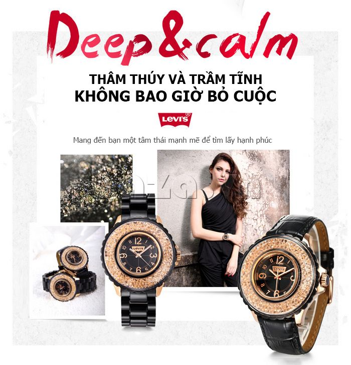 Levis watch for girl - Baza.vn