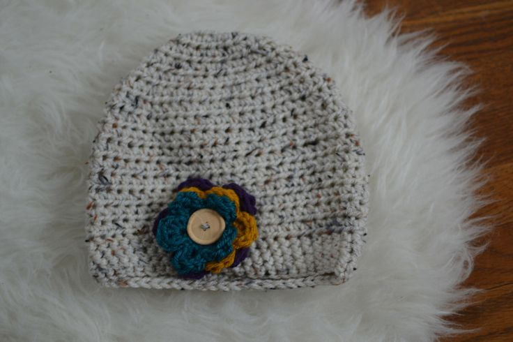 A personal favorite from my Etsy shop https://www.etsy.com/ca/listing/259072736/ready-to-ship-crochet-button-baby-toque