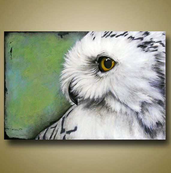 25 Unique Owl Paintings Ideas On Pinterest Owl