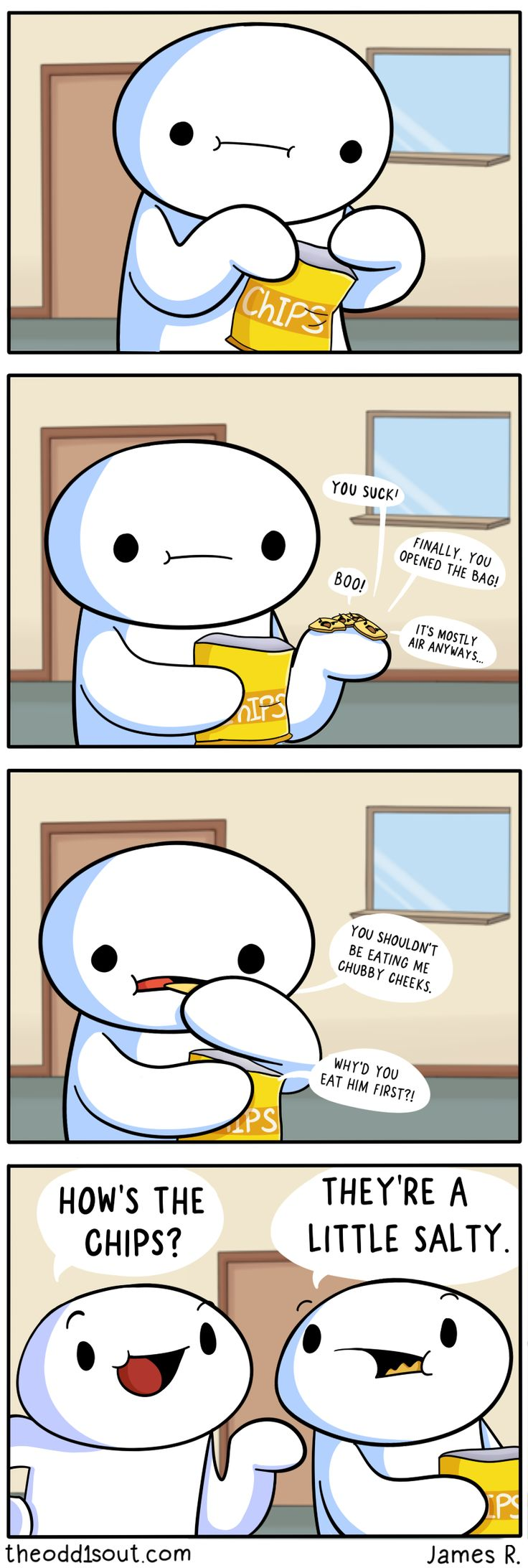 Theodd1sout :: How Are the Chips?  | Tapas Comics - image 1